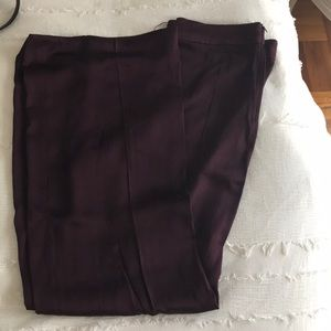 Burgundy Zara Trousers